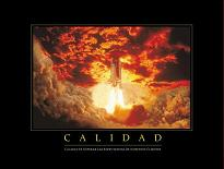 "Cuadro calidad - ""El texto de la foto dice: """"Calidad es superar las expectativas de nuestros clientes."""""""